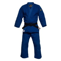 Mizuno IJF Yusho Judo Gi - Blue - Red Label