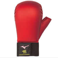 Mizuno Karate Gloves - Red